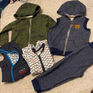 Boy's Fall Clothes Lot- 5 pc